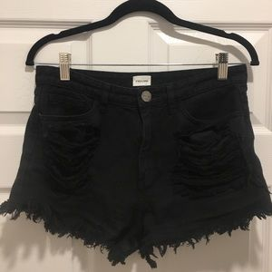 Sneak Peek High Waisted Shorts